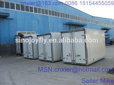 ckd panels for refrigerated truck bodies small cargo trucks hook stroke lift mobile food trailer