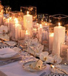 "The originak caption is apt: ""Candles candles candles""."