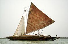 New Ethnic Polynesian Double Canoe built by Hans Klaar - James Wharram Designs - Community Pages
