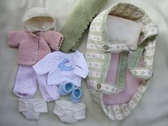 Clothes for waldorf baby doll