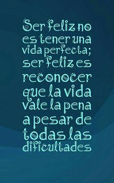 Ser feliz?