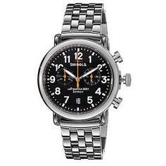 Shinola Runwell Chronograph Stainless Steel Men's Watch