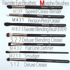 I am going to get Morphe Brushes!!!