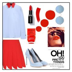 just got off work by kaykaydabosss on Polyvore featuring polyvore fashion style Marni Miu Miu Sunday Somewhere Nails Inc. Christian Louboutin clothing endofshift