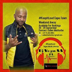 Weekends Away, Cape Town, Dj, September, Touch, Beams
