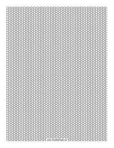 Printable Seed Bead Peyote Pattern