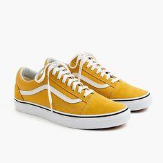 57ac2832a1 Crew Men s Vans® Old Skool Sneakers In Canvas - Men s Footwear