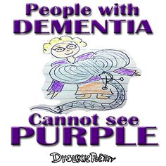 DID YOU KNOW - that when we start to forget things as older, PURPLE is the first colour we stop being able to see? One Color, Colour, Simple Minds, Did You Know, Illusions, Knowing You, Forget, Sayings, Purple