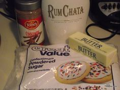 Rum Chata Cupcakes (this one actually has a recipe!)