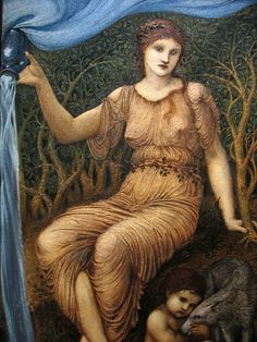 'Earth Mother', Sir Edward Burne-Jones