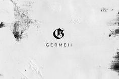 Germeii logotype by Ludivine Dallongeville