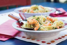 Speedy Scampi - What To Make for Dinner When You Don't Feel Like Making Dinner - Southernliving. Recipe: Speedy Scampi  Pasta is one of the fastest, easiest dinners around and this flavorful shrimp scampi is no exception—it's done in under 20 minutes. Buy shrimp that are already peeled and deveined to save even more time.