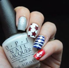 Nautical nails are tremendous trendyright now, & there's hundreds of ways to generate this cute design. Check out the following nail art ideas & inspiration for your next nail art. Related PostsEasy Spring Nail Art Tutorials For BeginnersNail Ideas for the Week Spring 2016Cute And Easy Summer Blue French DesignHow To A Pollock-Inspired Nail Art …