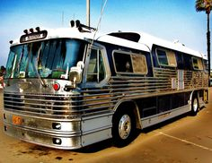 Elvis' tour bus. He owned a few buses one for getting himself and one done for the band