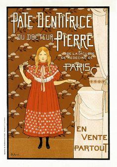 Louis Maurice Boutet de Monvel • Pate dentifrice du docteur Pierre