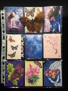 Kianna's Blog: Inhaalslag Pocket Letters deel III. Vlinders, Butterflies.