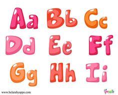 اشكال الحروف الانجليزية بالصور - تعليم انجليزي اطفال pdf بطاقات حروف انجليزي⋆ بالعربي نتعلم Color Rosa, Pink Color, Bold Fonts, Free Printable Worksheets, Coloring For Kids, Kids Education, Lettering, Water Kids, Preschools