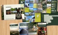 Edição de imagems, composição e paginação de catálogo de actividades da Geo Fun