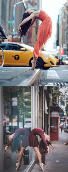 Beautiful Ballet Portrait Of Performers Claiming The Streets Of NYC Ballet is an intimately physical art that has been merged with the beauty of music, photography and dance, captured by Puerto Rico born, NYC-based photographer Omar Robles' camera on the streets of New York city.
