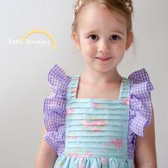 Juliet Flutter Dress   YouCanMakeThis.com