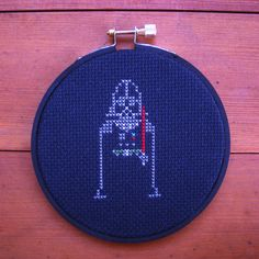 Darth Vader Cross Stitch The number of star wars cross stitch pieces are pretty crazy