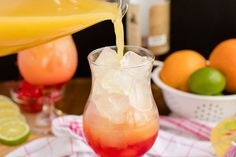 Sweet Mixed Drinks, Rum Mixed Drinks, Summer Pool Party, Pool Parties, Pineapple Juice, Orange Juice, Rum Punch Cocktail, Rum Punch Recipes, Barbecues