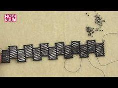 Kesme Şeker Peyote Bileklik Yapımı - YouTube