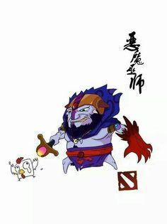 Annoying lion
