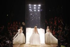 Dramatic bridal finale at the Vivienne Westwood Autumn Winter 2011/12 Gold Label show