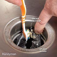HOW TO CLEAN A STINKY GARBAGE DISPOSAL. Does your kitchen sink smell bad? Is it coming from your garbage disposal? Here's how to clean a garbage disposal and get rid of those disgusting odors. Deep Cleaning Tips, House Cleaning Tips, Cleaning Solutions, Spring Cleaning, Cleaning Hacks, Cleaning Products, Cleaning Checklist, Cleaning Wipes, Kitchen Sink Smell