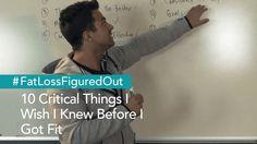 10 Critical Things I Wish I Knew Before I Got Fit