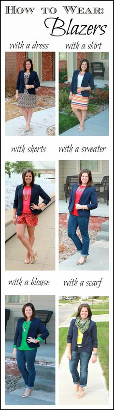 My New Favorite Outfit: How to Wear: Blazers