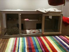New indoor hutch finally finished! - Rabbits United Forum