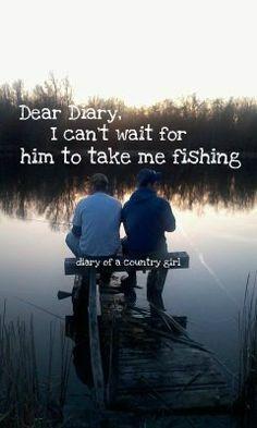 I really wanna go fishing so bad!