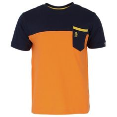 Original Penguin Block Pocket Detail Tee