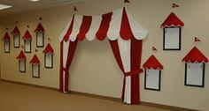 For my little boys nursery I am thinking about doing a vintage circus theme. I have seen a few different ways of making an awning. This is what I have found… Via Via Via from Danamadeit.com I really like the very first one with the double flags. If anyone knows of other tutorial for a DIY awning will you please message me the link.  Thanks,