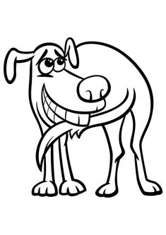 free printable dogs and puppies coloring pages for kids - Free Printable Dog Coloring Pages