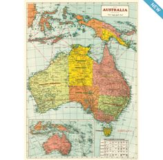 26 best wrapped images on pinterest gift packaging gift wrapping australia map 2 wrapping paper from cavallini co available at bobangles gumiabroncs Choice Image