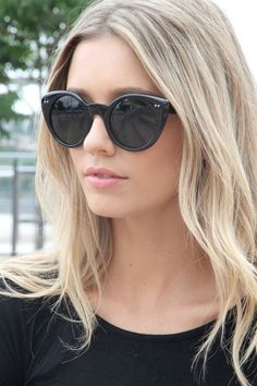 sunglasses & hair. This look has been part of my summer look inspiration