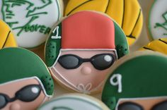 Water polo cookies by Cookie Crush