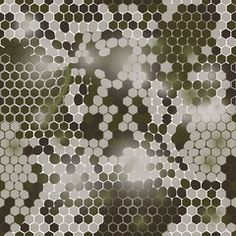 Hexagonal camouflage pattern