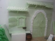 Scenografia,cottage