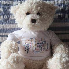 Who doesn't love to cuddle with a #teddybear ? Send your post-graduate off to #college with sweet memories of their high school graduation with a custom Scape. #Graduation #Scapes #ShareScapes