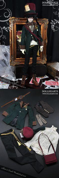 Dollheart MadHatter Dark Alice