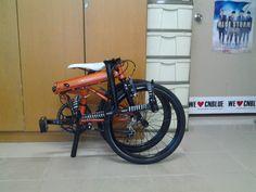 Dahon Speed Falco folding bike