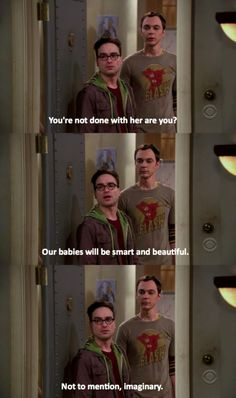 Big Bang Theory haha I repin every time!