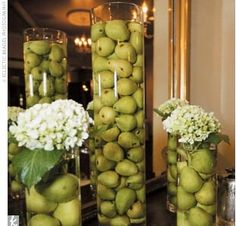 glass cylinder centerpieces - Google Search