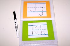 ABC & 123   Tracing Book     I have wanted to make an alphabet tracing book for Super Tot for a while now and finally got around to doin...