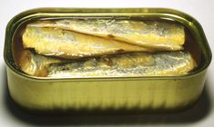 Sardines canned in Olive Oil. One of the World's more perfect foods.