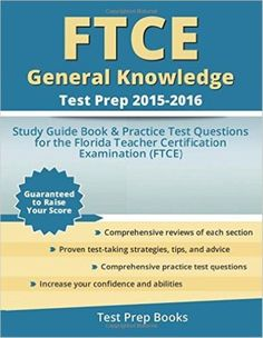 (Epub Kindle) FTCE General Knowledge Test Study Guide 2018-2019: Exam Prep  Book and Practice Test Questions for the Florida Teacher Certification ...